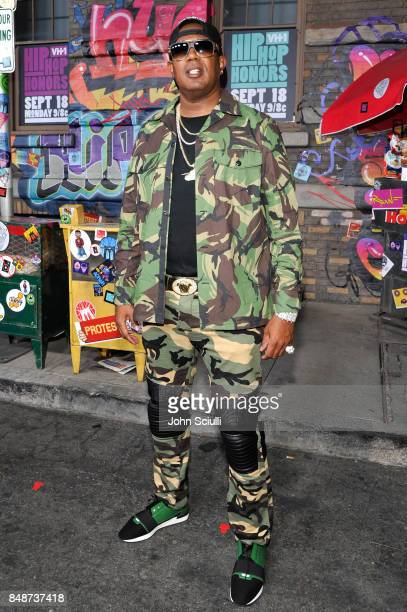 Master P attends VH1 Hip Hop Honors The 90s Game Changers at Paramount Studios on September 17 2017 in Los Angeles California