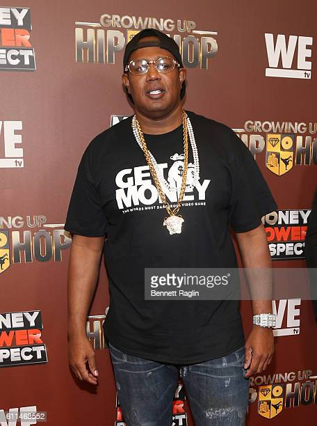Master P attends WE tv's Growing Up Hip Hop Season 2 Premiere Screening And After Party on September 29 2016 in New York City
