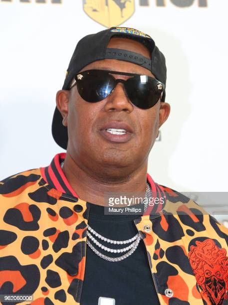 Master P attends WEtv and The Cast of Growing Up Hip Hop screening event and celebration at The London West Hollywood on May 22 2018 in West...