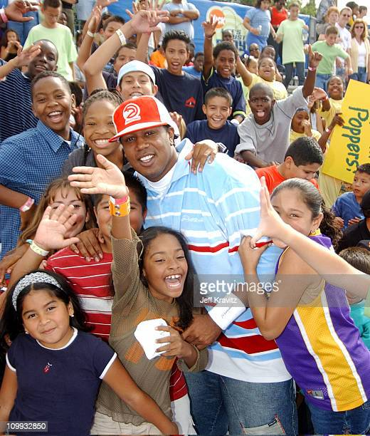 Master P during Nickelodeon Celebrates Lets Just Play Campaign at Nickelodeon Studios On Sunset in Hollywood CA United States