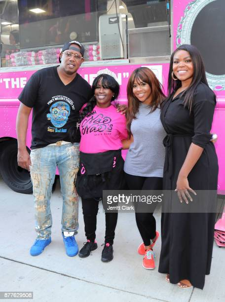 Master P Mama YG Miss Diddy and Compton Mayor Aja Brown attend the 4th Annual Compton Thanksgiving on November 22 2017 in Compton California