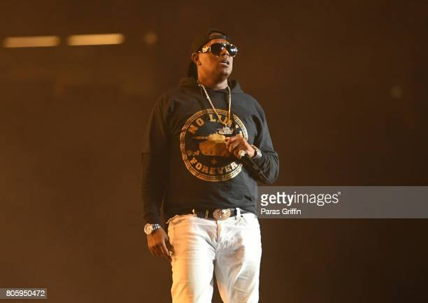 Master P performs onstage at 2017 Essence Festival at MercedesBenz Superdome on July 2 2017 in New Orleans Louisiana