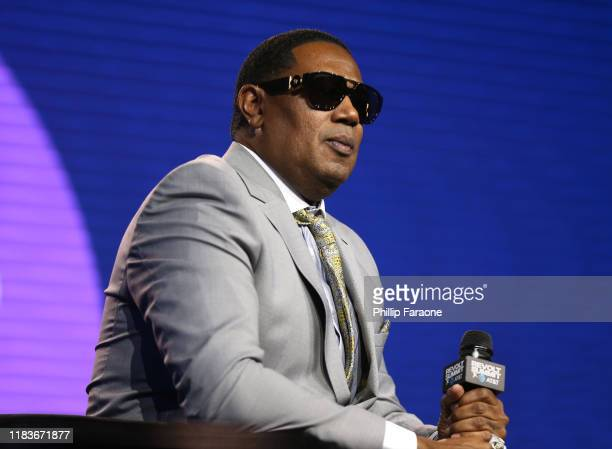 Master P speaks onstage at the REVOLT X ATT 3Day Summit In Los Angeles Day 2 at Magic Box on October 26 2019 in Los Angeles California