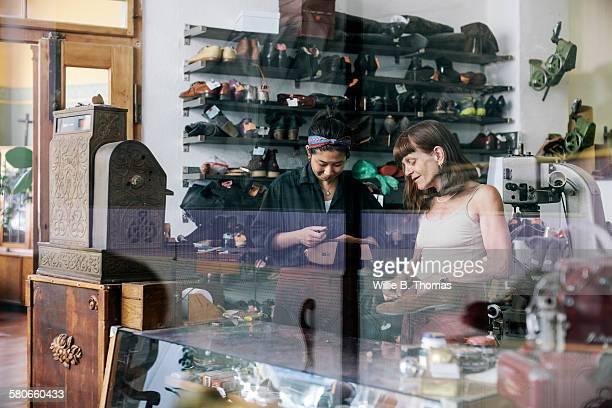 Master Shoemaker and Apprentice
