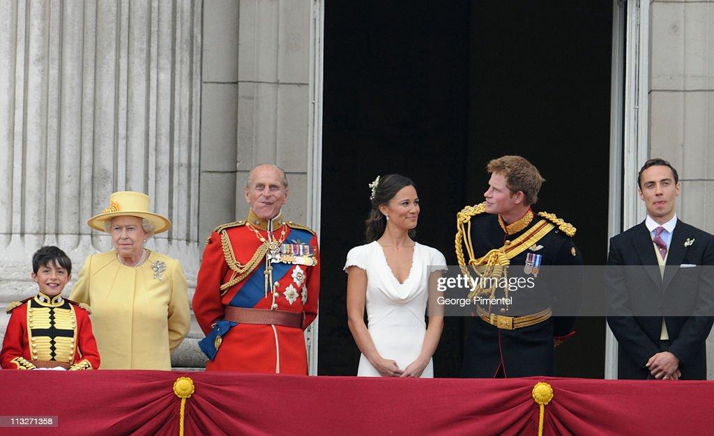 The Wedding of Prince William with Catherine Middleton - Buckingham Palace Balcony