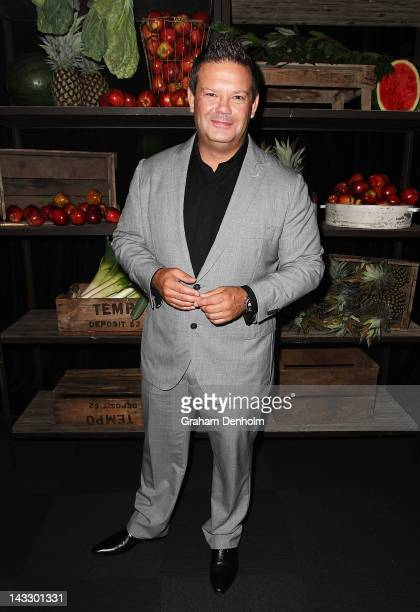 Masterchef judge Gary Mehigan attends the Masterchef Australia Network Ten launch party, launching the new series of Masterchef, at the Luminare,...
