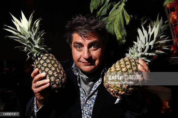 Masterchef judge Matt Preston attends the Masterchef Australia Network Ten launch party launching the new series of Masterchef at the Luminare South...
