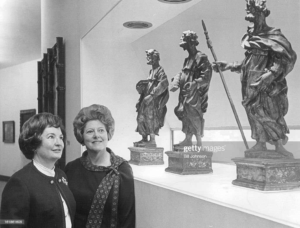 FEB 28 1972, MAR 2 1972, MAR 12 1972; Masterpieces from the Denver Art Museum's collections of Itali : Foto jornalística