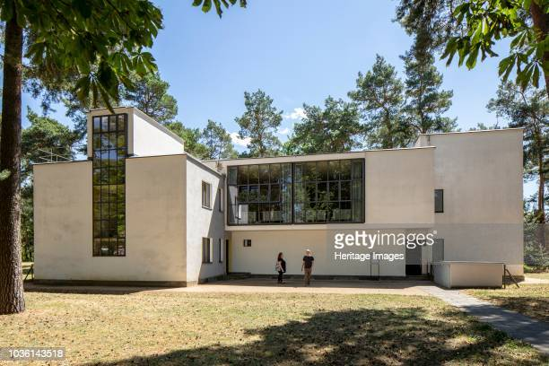 Masters' House The Bauhaus building Germany Dessau Designed by Walter Gropius 192526