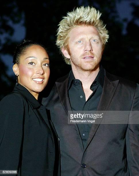 Masters Series 2003 Hamburg Players Night Boris BECKER mit Begleitung Caroline
