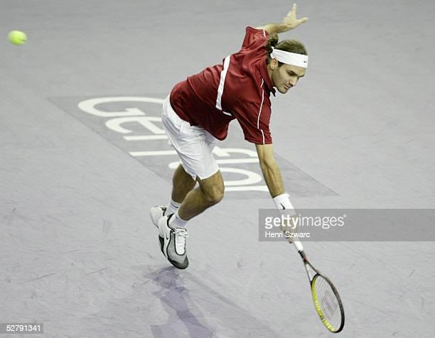 Masters Series Turnier 2003 Paris; Roger FEDERER/SUI