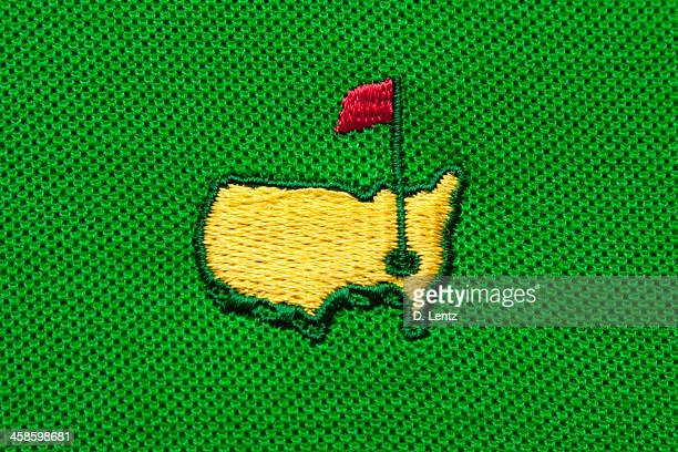 masters tournament logo - the majors golf stock pictures, royalty-free photos & images