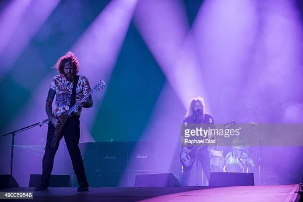 Mastodon performs at 2015 Rock in Rio on September 25 2015 in Rio de Janeiro Brazil