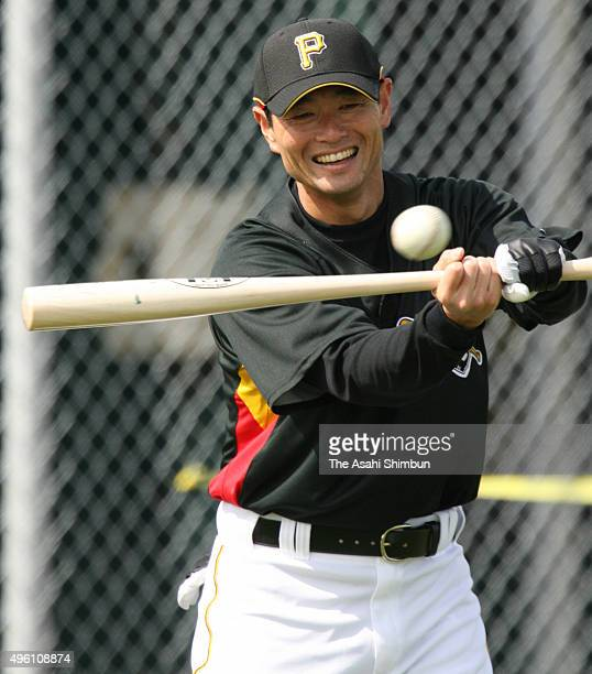 Masumi Kuwata is seen during the Pittsburgh Pirates spring camp on February 16 2007 in Bradenton Florida