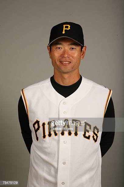 Masumi Kuwata of the Pittsburgh Pirates poses during photo day at McKechnie Field on February 25 2007 in Bradenton Florida
