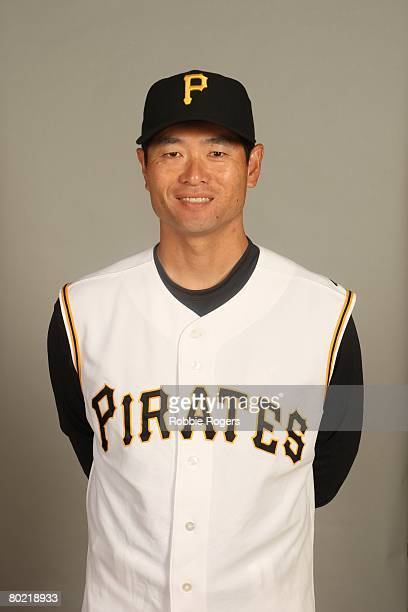 Masumi Kuwata of the Pittsburgh Pirates poses for a portrait during photo day at McKechnie Field on February 24 2008 in Bradenton Florida