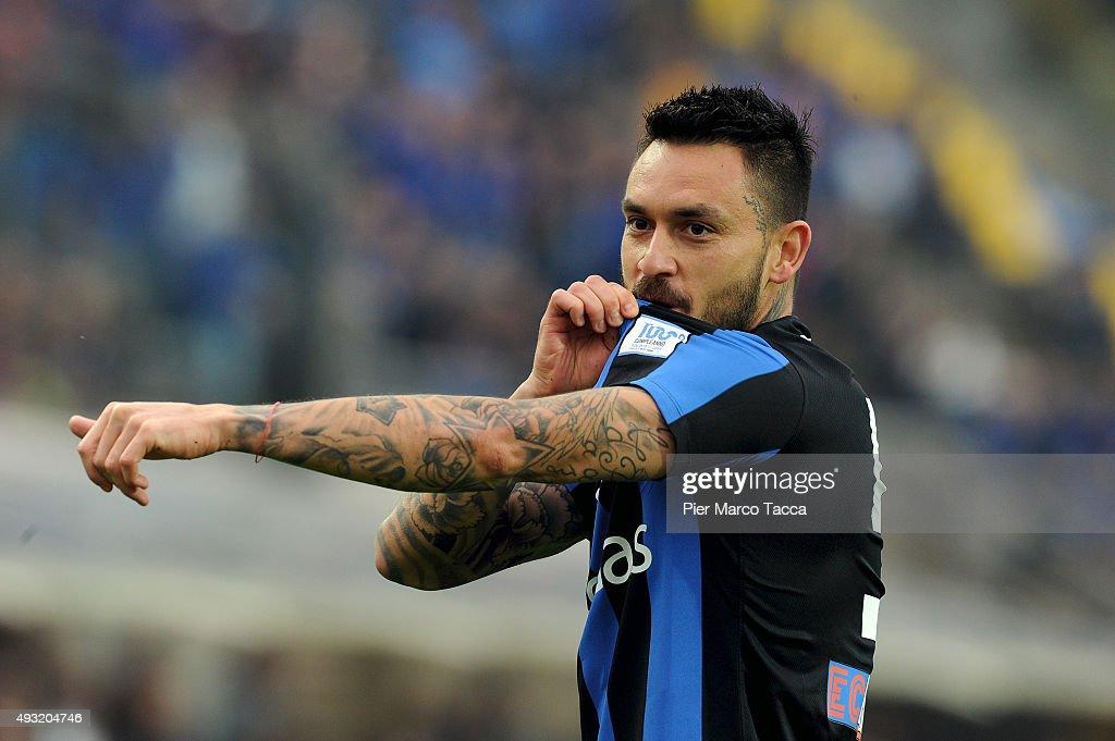 Atalanta BC v Carpi FC - Serie A : ニュース写真