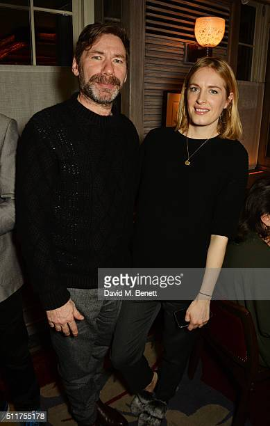 Mat Collishaw and Polly Morgan attend the launch of Tracey Emin and Stephen Webster's new jewellery collection 'I Promise To Love You' at 34...