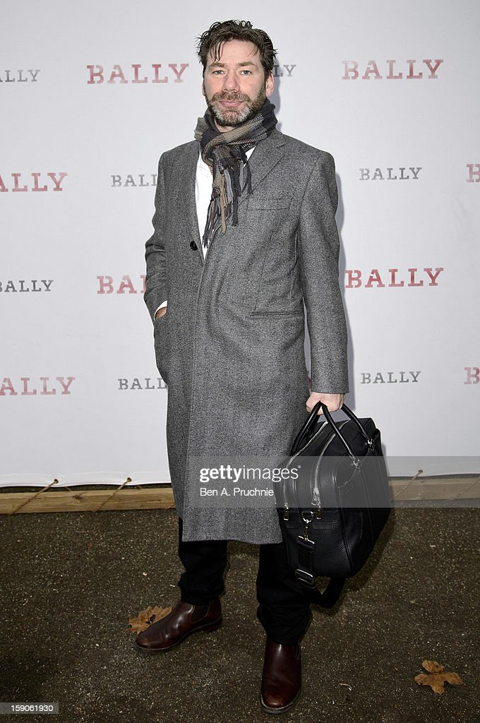 Mat Collishaw attends the BALLY Celebrates 60 Years Of Conquering Everest at Bedford Square Gardens on January 7, 2013 in London, England.