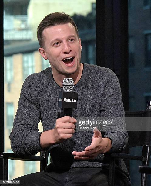 "Mat Franco attends The Build Series to discuss ""Magic Reinvented Nightly"" at AOL HQ on December 1, 2016 in New York City."
