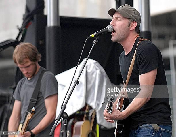 Mat Kearney during Starfest 2006 Concert Atlanta GA July 22 2006 at Atlantic Station in Atlanta Georgia United States