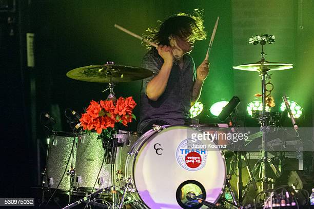 Mat Uychich of The Front Bottoms performs at Revolution on May 10 2016 in Fort Lauderdale Florida
