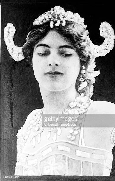 Mata Hari Dutch exotic dancer and courtesan arrested in Paris by the French executed by firing squad for spying for Germany during World War I...