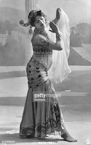 Mata Hari in her dancing costume Undated photograph