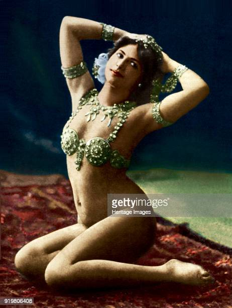 Mata Hari in La Scala 1911 Found in the collection of Fries Museum Leeuwarden