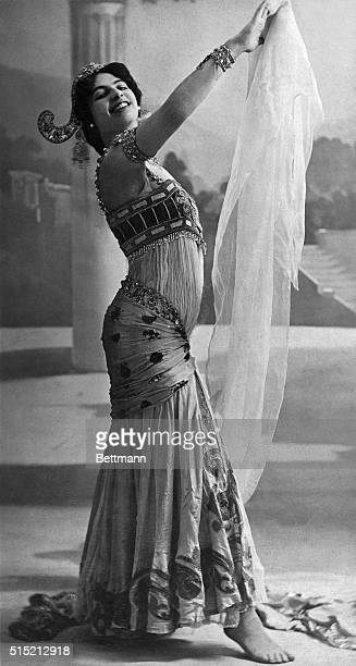Mata Hari spy for Germany who was shot during the world war Photo ca 1926