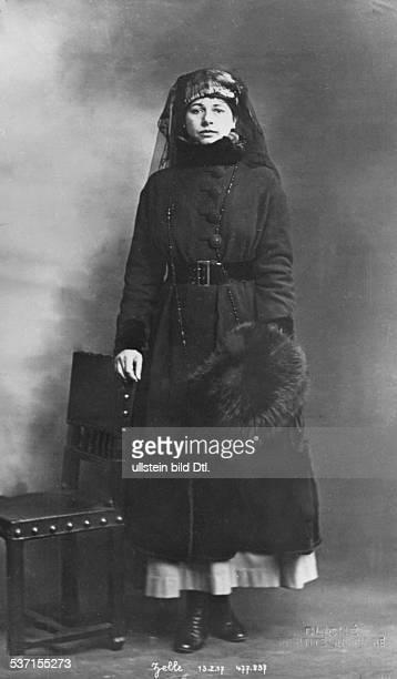 Mata HariMata Hari Tänzerin Niederlande als Spionin hingerichtet 1917 in Frankreich Porträt im Untersuchungsgefängnis in Paris 1917