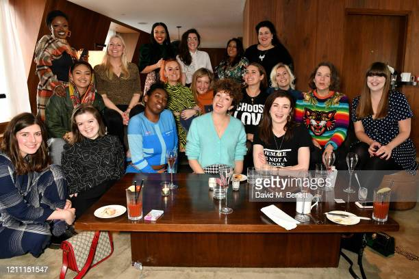 Mata Marielle Lucy Coats Emma Dabiri Mollie King Reju Sharma and Amy Lame Joy Crookes Aimee Phillips Stephanie Sian Smith Josie Naughton Sara Pascoe...