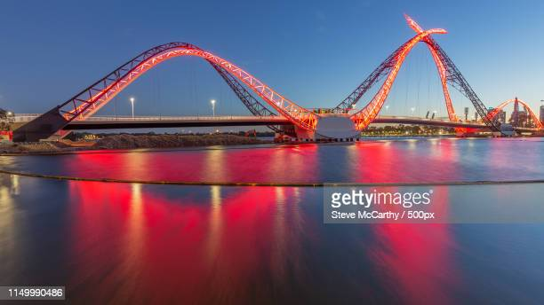 matagarup bridge - perth stock pictures, royalty-free photos & images