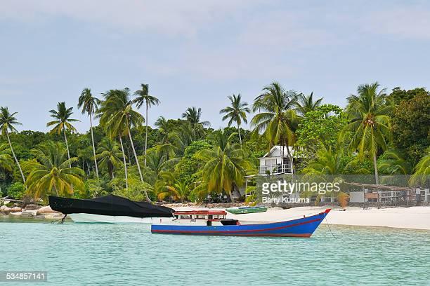 matak city, riau islands indonesia. - riau images stockfoto's en -beelden