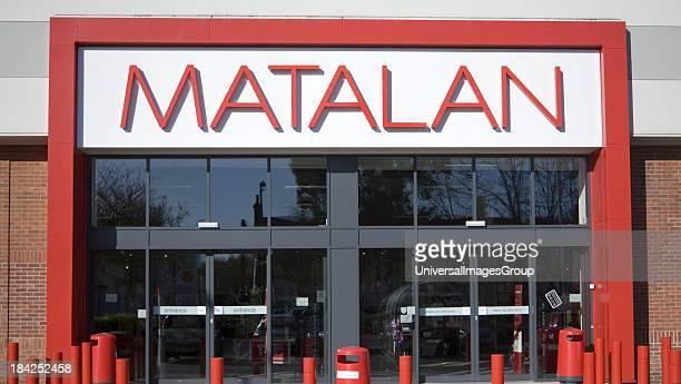 Matalan clothing store Orwell Retail Park Ranelagh Road Ipswich Suffolk England