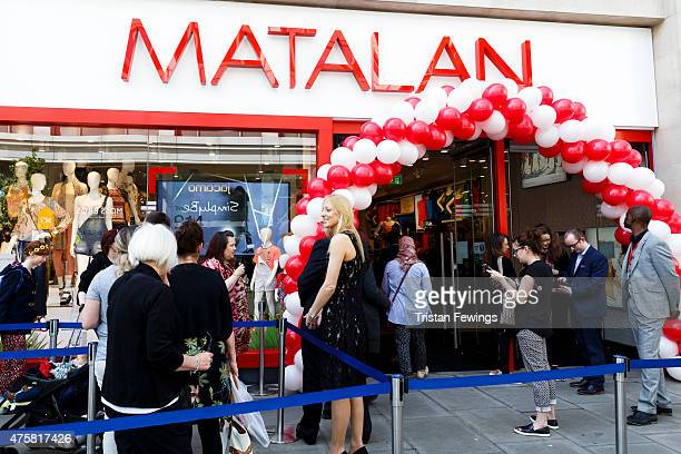 Matalan opens it's first Oxford Street store on June 4 2015 in London England