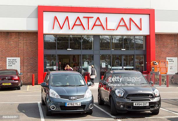 Matalan shop in central Ipswich Suffolk England UK
