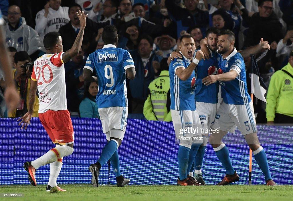 Millonarios v Santa Fe - Final Liga Aguila II 2017