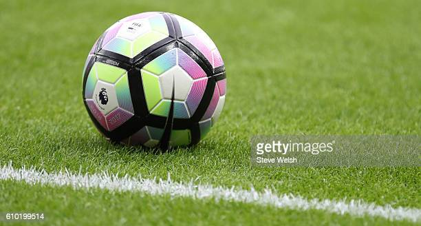 Match Ball during the Premier League match between Sunderland and Crystal Palace FC on September 24 2016 in Sunderland England