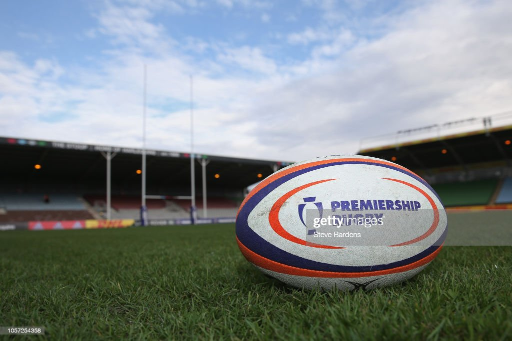 GBR: Harlequins v Newcastle Falcons - Premiership Rugby Cup