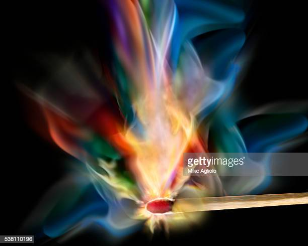 match being lit - mike agliolo stock pictures, royalty-free photos & images