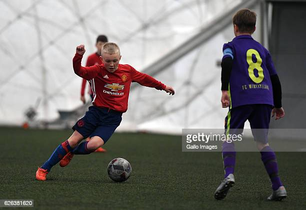 Match between FC Midtjylland and Manchester United during the Legia Cup 2016 match on November 27 2016 in Warsaw Poland Legia Cup is a tournament for...