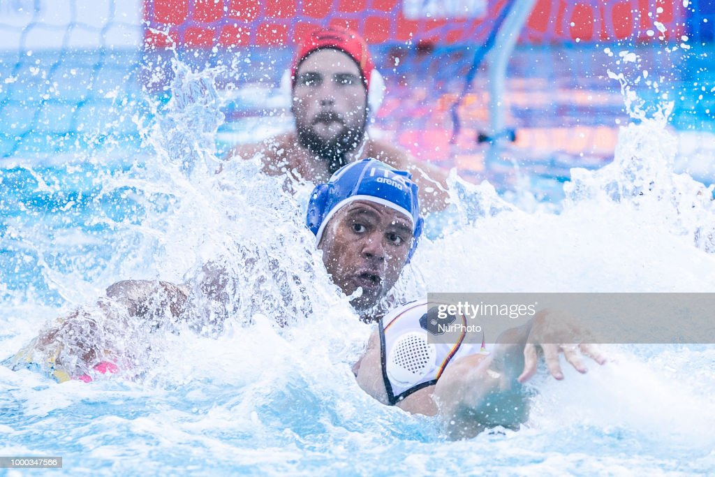 Germany v Italy -  33rd LEN European Waterpolo Championships