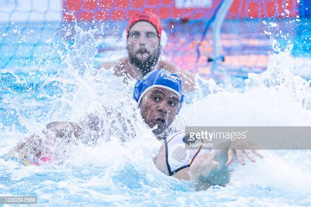 Match between Germany v Italy corresponding to the 33rd LEN European Waterpolo championships Barcelona 2018 on 16 de July 2018 in Barcelona