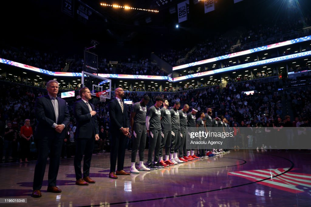 Philadelphia 76ers vs Brooklyn Nets : News Photo
