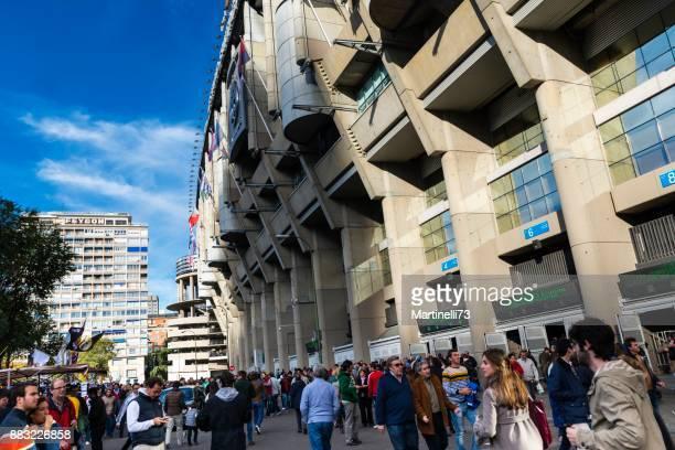 Jornada en el estadio Santiago Bernabeu