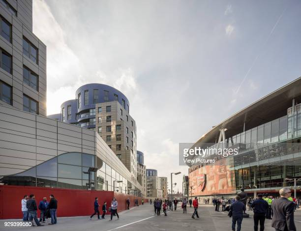 Match day Queensland Road London United Kingdom Architect CZWG Architects LLP 2015