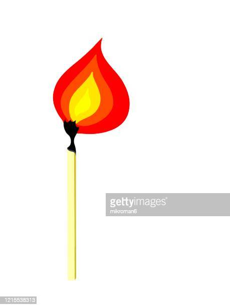 match fire - burning stock pictures, royalty-free photos & images