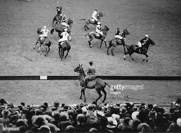 Match of the English and American polo team at the Westchester Cup at Hurlingham / London 10th June 1936 Photograph