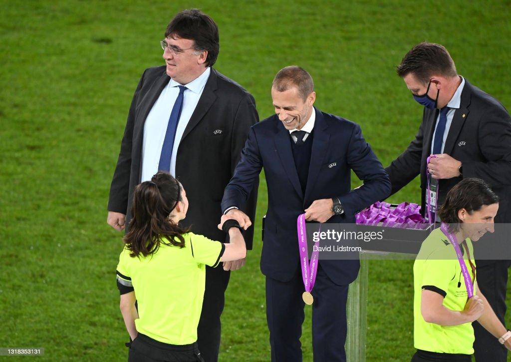 Chelsea FC v FC Barcelona - UEFA Women's Champions League Final 2021 : News Photo
